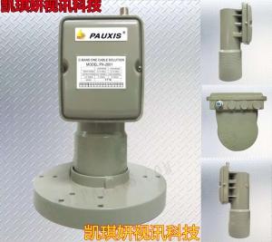 普斯PX-2001双本振专业级抗5G干扰窄波抗5G产品中星6B抗干扰高频头